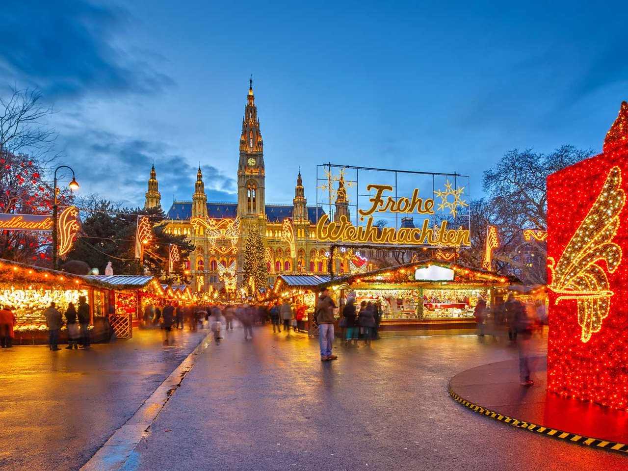 Kerstreis 8 dagen Wenen