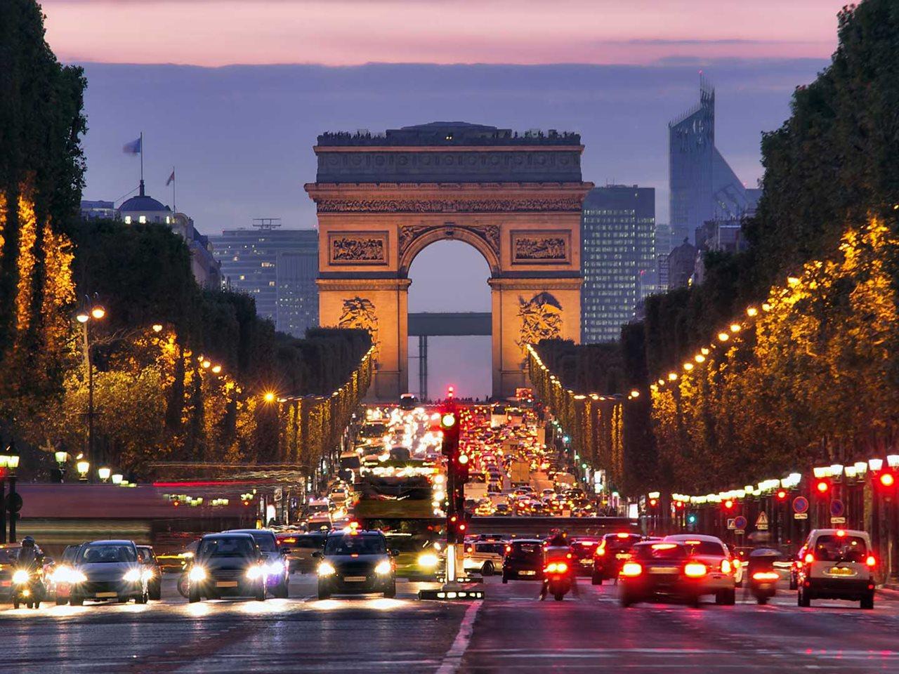 Busreis Frankrijk Parijs Oud en Nieuw 4 dagen