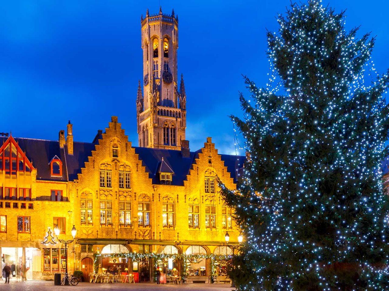 Kerstmarkten 3 dagen Lille, Canterbury en Brugge