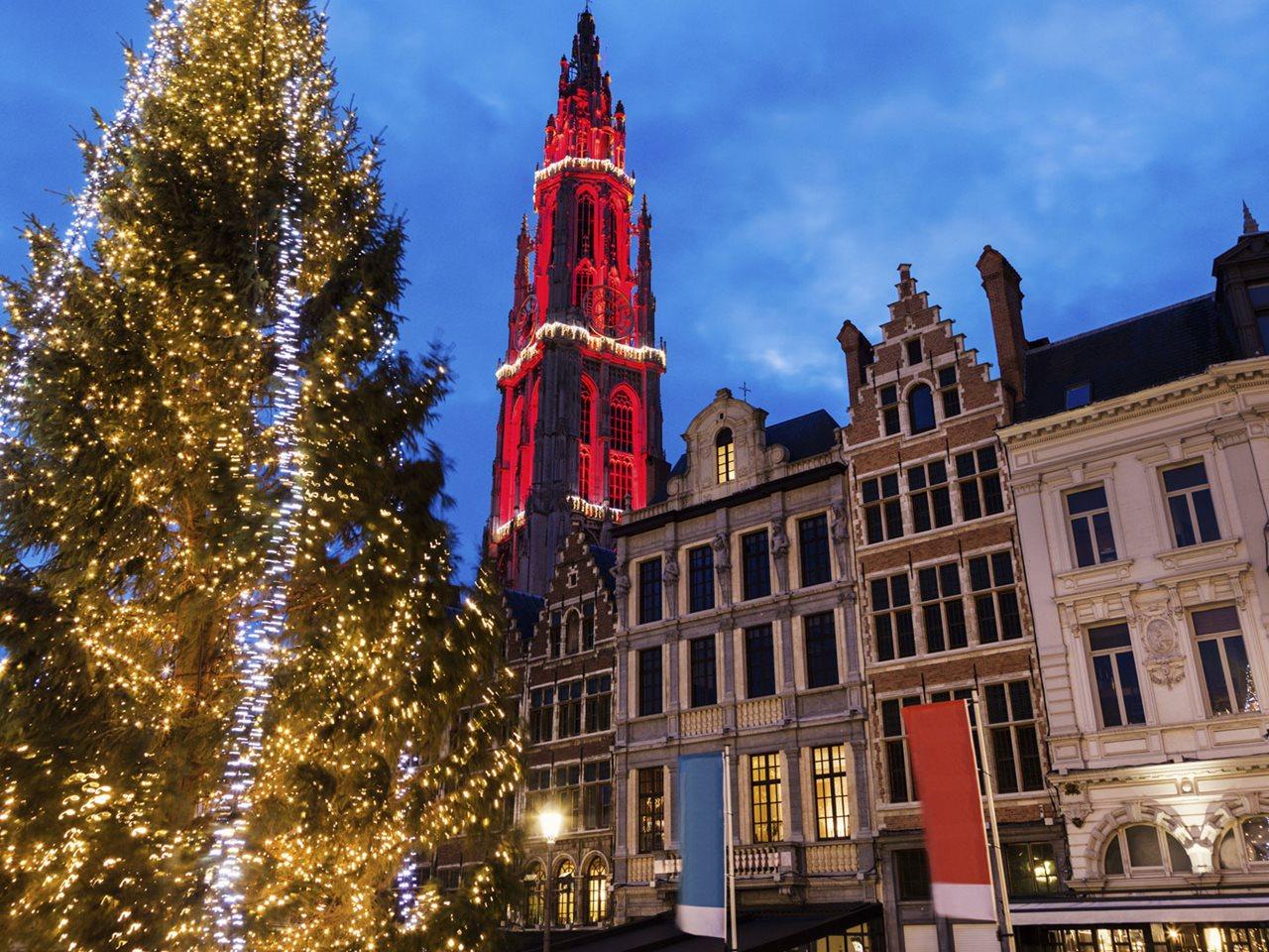 Kerstmarkten 4 dagen de Mooiste steden van België