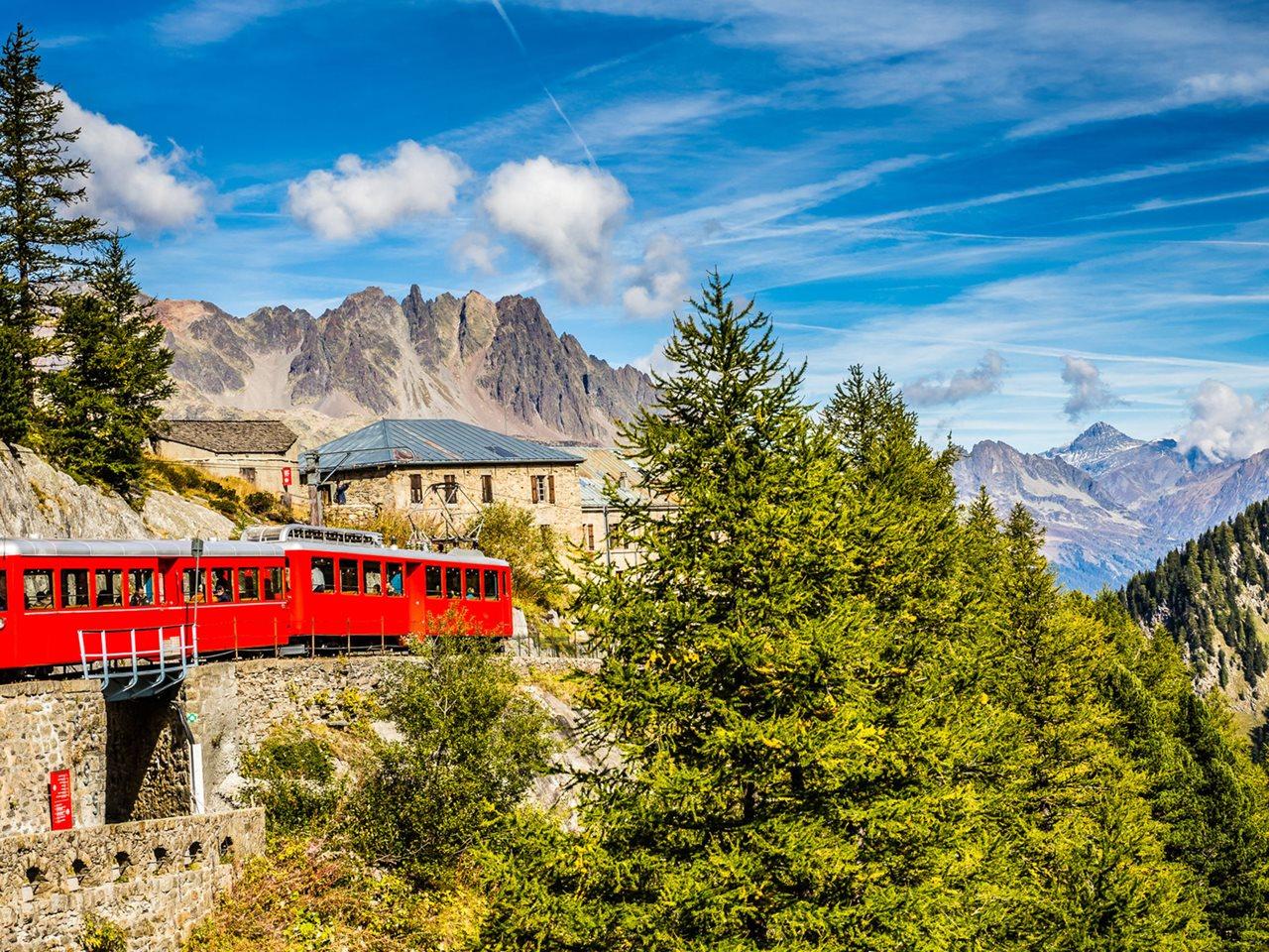 Excursiereis 8 dagen Zwitserse Alpen met bus en trein